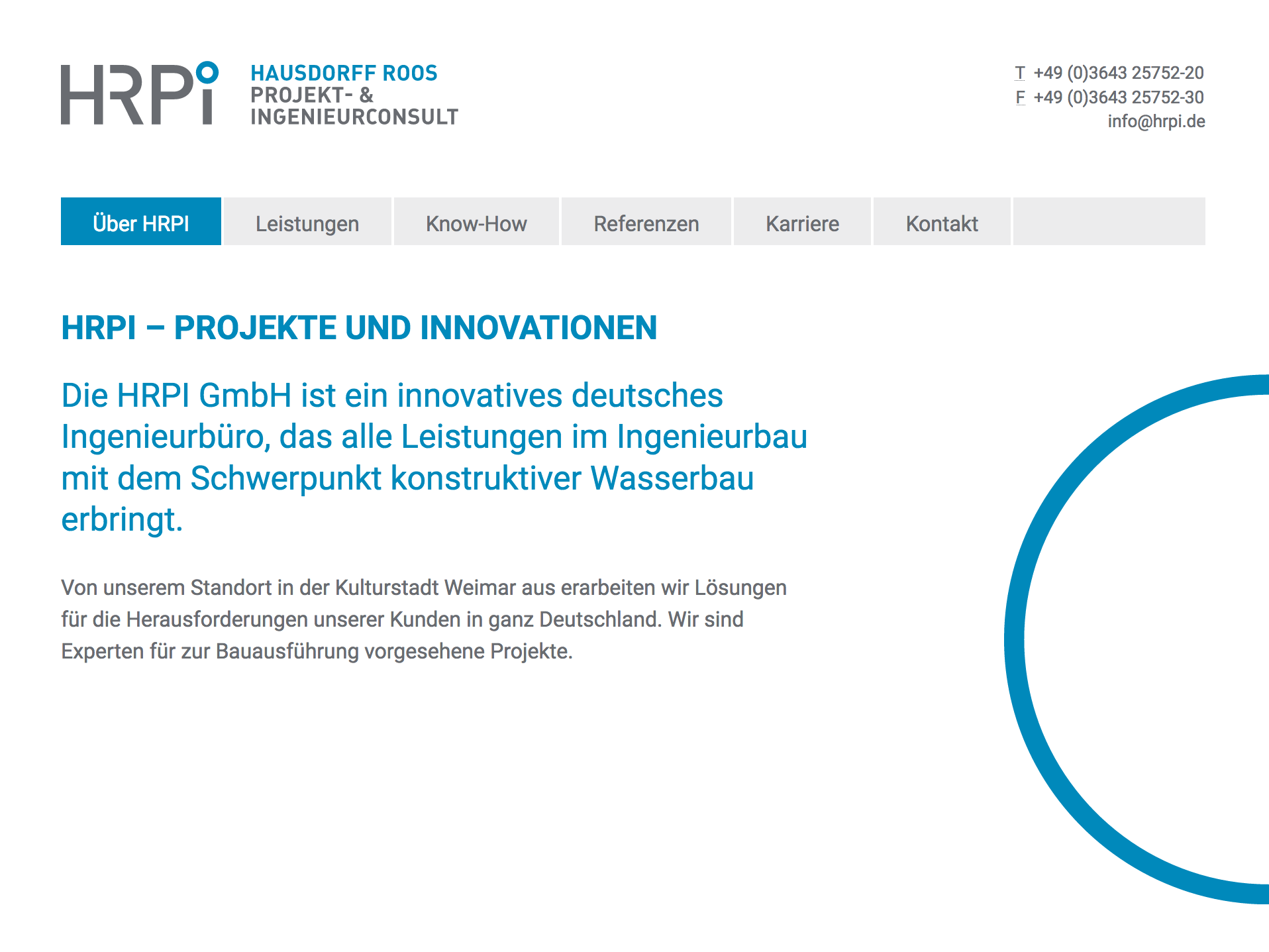 Website hrpi.de