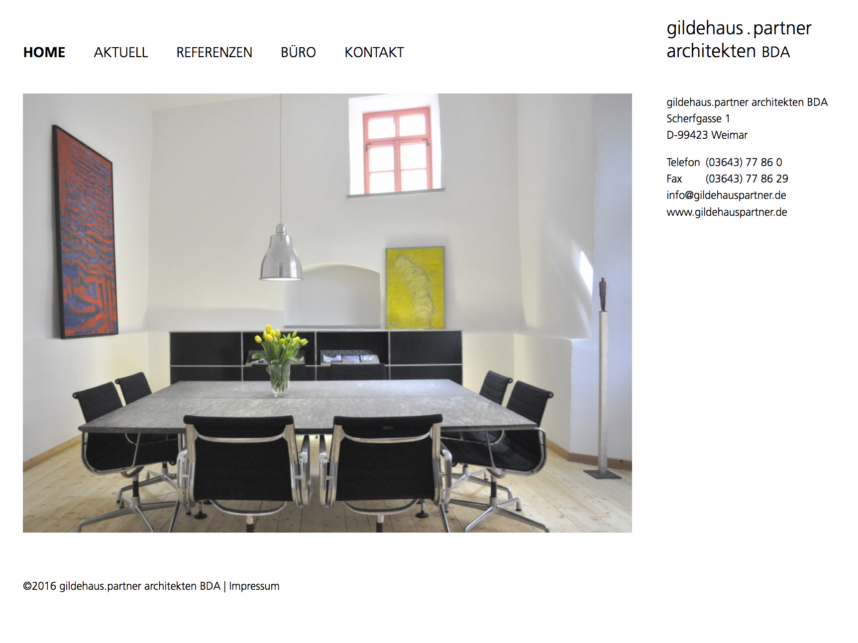 Website gildehauspartner.de